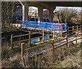 SU8658 : Temporary bridge by Alan Hunt