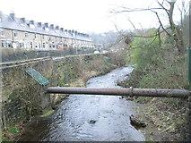 SE0726 : Hebble Brook - Brackenbed Lane by Betty Longbottom