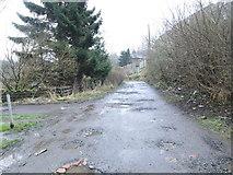 SE0726 : Greenroyd Lane - looking towards Brackenbed Lane by Betty Longbottom