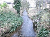 SE0726 : Hebble Brook - Wood Lane by Betty Longbottom