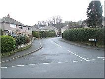 SE0726 : Meadow Crescent - Meadow Drive by Betty Longbottom