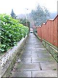 SE0726 : Footpath - Meadow Drive by Betty Longbottom