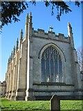 TA1439 : St  Augustine's  Church  Skirlaugh  East  Window by Martin Dawes