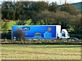 SU2280 : Kingsmill HGV, M4, Swindon by Brian Robert Marshall