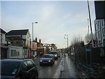 TQ3266 : Whitehorse Road, Croydon, morning rush hour by Christopher Hilton