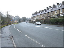 SE0726 : Hebble Lane - viewed from Dyer Lane by Betty Longbottom