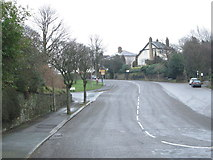 SE0726 : Lee Mount Road - viewed from Shroggs Road by Betty Longbottom