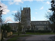 SP7006 : Church of St Mary from old Thame Road by Rob Farrow