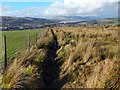 NS4080 : Fence and drainage channel by Lairich Rig