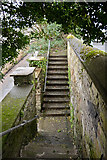 SX3384 : Steps in Launceston by Roger A Smith