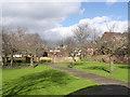 SK5540 : Christ Church Rest Garden by Alan Murray-Rust