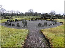 H2070 : Drumskinny Stone Circle by Kenneth  Allen