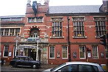 TQ3182 : Finsbury Town Hall by N Chadwick