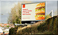 "J2765 : ""Big Mac"" poster, Lambeg by Albert Bridge"