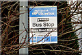 J2766 : Bus stop, Moss Road, Lambeg by Albert Bridge
