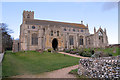 TG0443 : St Margaret's church, Cley next the Sea by J.Hannan-Briggs