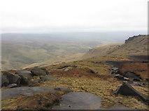 SK0894 : View west over Shelf Moor by Gareth James