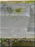 SE1437 : Ordnance Survey Cut Mark with Rivet by Peter Wood