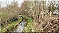 J3673 : Knock River works, Belfast - February 2014(1) by Albert Bridge