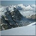 NN2254 : Stob Dearg in winter, 1978 by Jim Barton