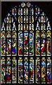 TG2308 : West window, Norwich Cathedral by J.Hannan-Briggs