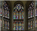 TG2308 : Apse stained glass windows, Norwich Cathedral  by J.Hannan-Briggs