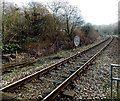 ST0399 : Speed limits SE of Fernhill railway station by Jaggery