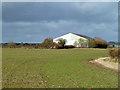 SP6410 : The Hangar, former RAF Oakley by Robin Webster