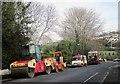 SX9065 : Road working vehicles, Teignmouth Road, Torquay by Derek Harper