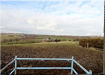 NZ1350 : View northwest near Iveston by Robert Graham