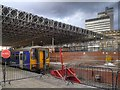 SJ8499 : Refurbishment of Manchester Victoria Railway Station by David Dixon