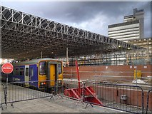 SJ8499 : Refurbishment of Manchester Victoria Railway Station by David Dixon