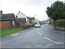 SE0729 : Tewit Lane - School Lane by Betty Longbottom