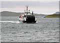 NF7203 : Calmac ferry approaching Barra by William Starkey