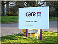 TM4189 : The Dell Care Home sign by Adrian Cable