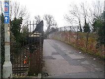 TR1458 : Whitehall Bridge, Canterbury by David Anstiss