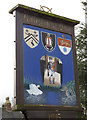 SK2327 : Rolleston Village Sign -2 by Alan Murray-Rust