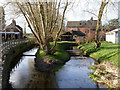 SK2228 : Mill Fleam at Tutbury Corn Mill by Alan Murray-Rust