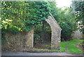 SM9800 : Lychgate, Church of St Daniel by N Chadwick