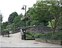 SD9927 : The Old Bridge, Hebden Bridge by Linden Milner