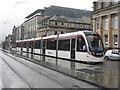 NT2574 : Edinburgh tram leaving St Andrew Square by M J Richardson