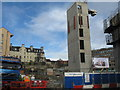NT2673 : Building site on Holyrood Road by M J Richardson