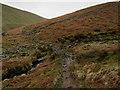 SD7939 : Pendle Way crossing Boar Clough by Chris Heaton