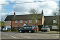 SP6308 : Houses at the corner, Worminghall by Robin Webster