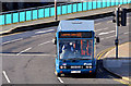 J3474 : City Airport bus, Belfast (February 2014) by Albert Bridge