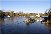 SU5980 : Goring Weir by Bill Nicholls