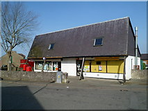 SH4862 : Chip shop and post office, Ffordd Eryri, Caernarfon by Jaggery