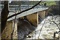 NS8840 : Bridge above Bonnington Linn, River Clyde by Jim Barton