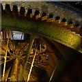 SJ8382 : Water wheel, Styal by Peter Barr