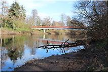 NS3421 : Craigholm Bridge, Ayr by Billy McCrorie